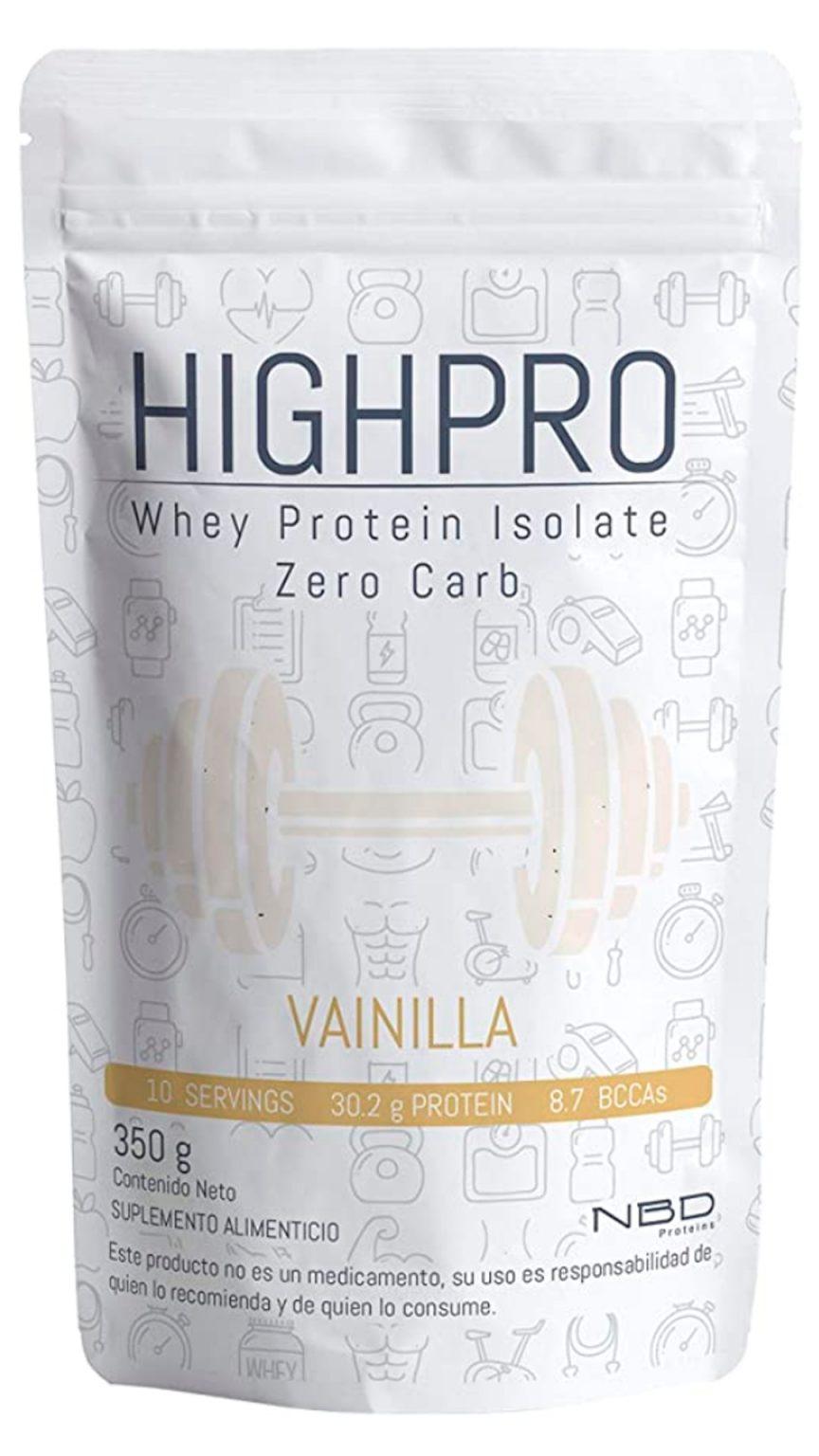 Proteína Zero Carb Sabor Vainilla